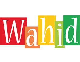 Wahid colors logo
