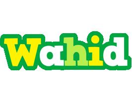 Wahid soccer logo