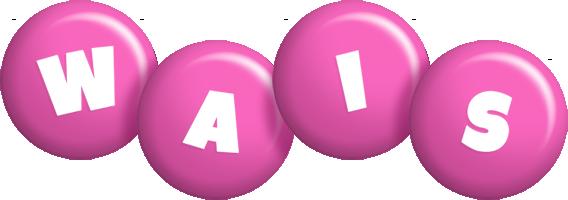 Wais candy-pink logo