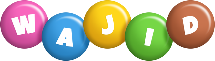 Wajid candy logo