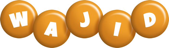 Wajid candy-orange logo