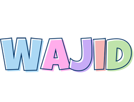 Wajid pastel logo