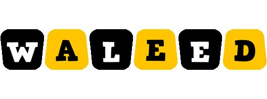 Waleed boots logo