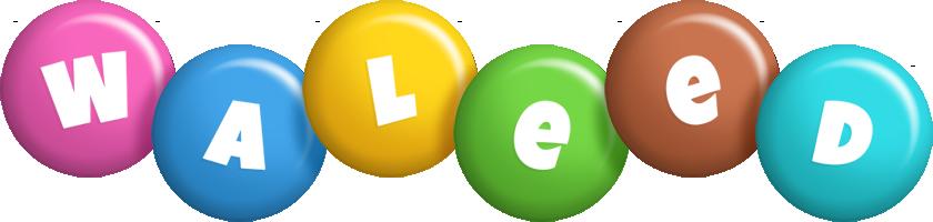 Waleed candy logo