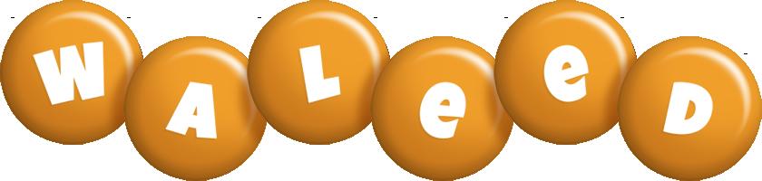 Waleed candy-orange logo