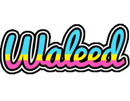 Waleed circus logo