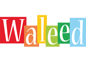 Waleed colors logo