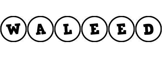 Waleed handy logo