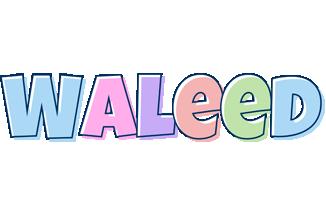 Waleed pastel logo