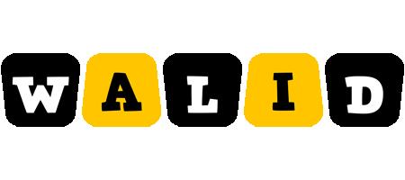 Walid boots logo