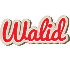 Walid chocolate logo