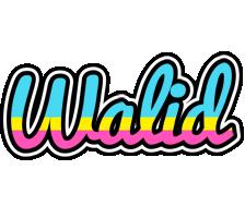 Walid circus logo
