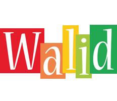 Walid colors logo