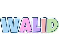 Walid pastel logo