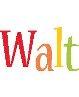 Walt birthday logo