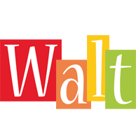 Walt colors logo