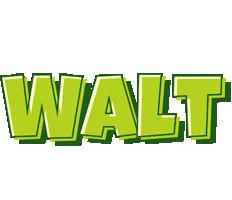 Walt summer logo