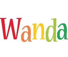 Wanda birthday logo