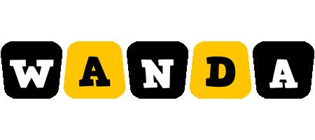 Wanda boots logo