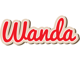 Wanda chocolate logo