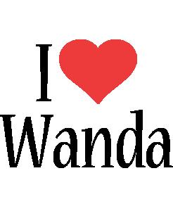Wanda i-love logo