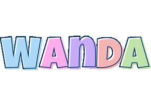Wanda pastel logo