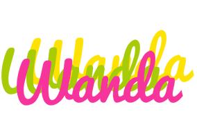 Wanda sweets logo