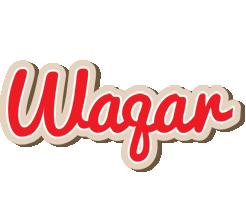 Waqar chocolate logo