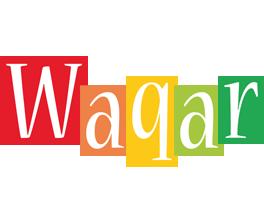 Waqar colors logo