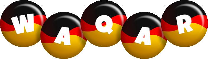 Waqar german logo