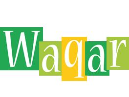 Waqar lemonade logo