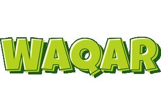 Waqar summer logo