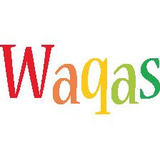 Waqas birthday logo