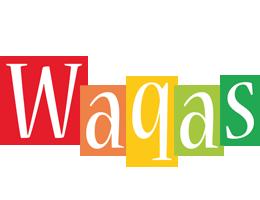 Waqas colors logo