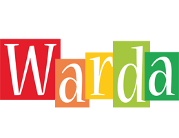Warda colors logo