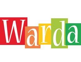 Warda colors logo