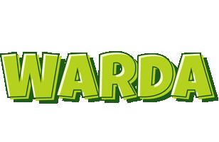 Warda summer logo