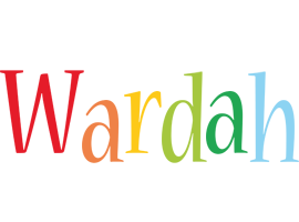 Wardah birthday logo