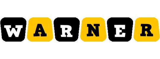 Warner boots logo