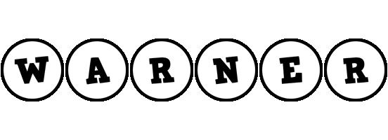Warner handy logo