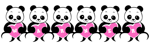 Warner love-panda logo