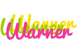 Warner sweets logo