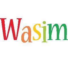 Wasim birthday logo