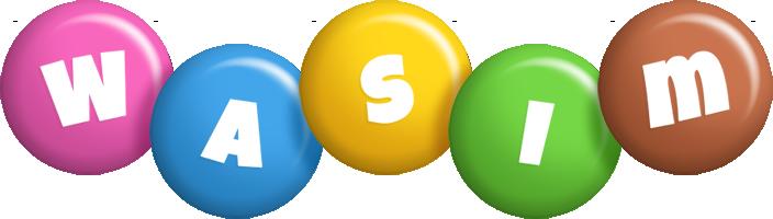 Wasim candy logo