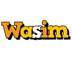 Wasim cartoon logo