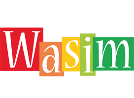 Wasim colors logo