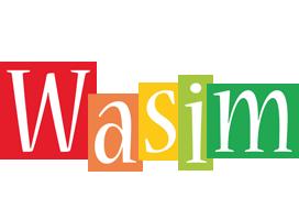 Wasim colors logo