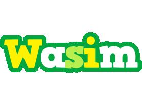 Wasim soccer logo