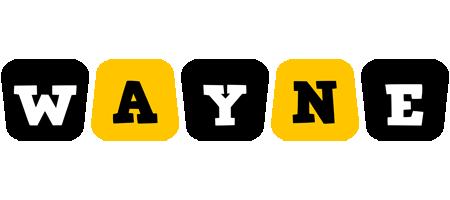 Wayne boots logo