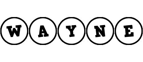 Wayne handy logo
